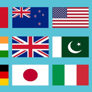 Do you know all the countries flags?