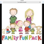 Family fun pack quiz