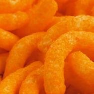 All hail cheesy puffs