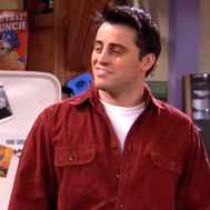 How many Procent Joey from friends are you?